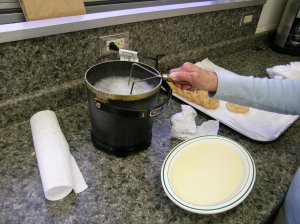 Rosette in the Fryer