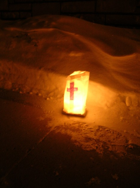 Cross in the Snowdrift