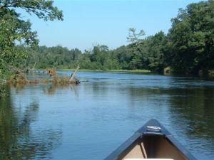 2011 Faith Adventure Youth trip6, Namekagon River WI