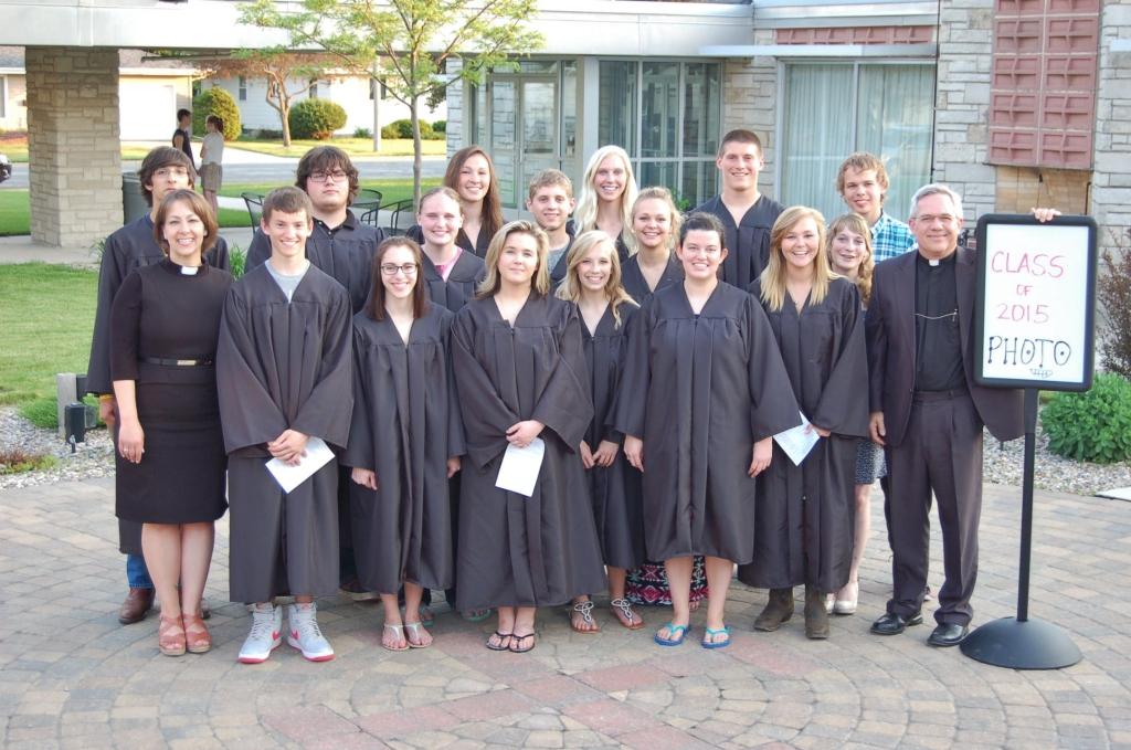 FLC grads at BP 2015 Baccalaureate